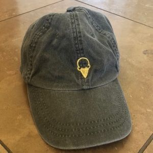Accessories - Olive green ice cream cone hat